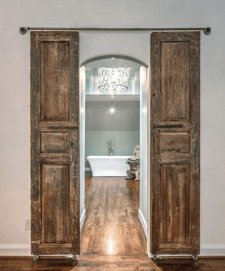 la porte coulissante salle de bain nous