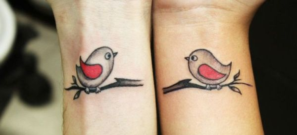 20 Cartoon Couples Hand Tattoos Ideas And Designs