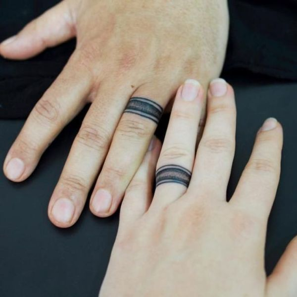 20 Mens Ring Tattoos Forever Ideas And Designs