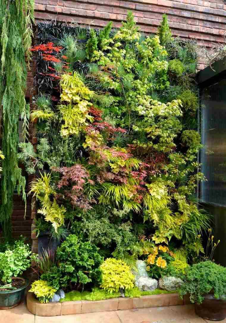 Faire Un Mur Végétal Extérieur : faire, végétal, extérieur, Fabriquer, Végétal, Extérieur, Plantes, Succulentes, Photos,, Idées, Astuces