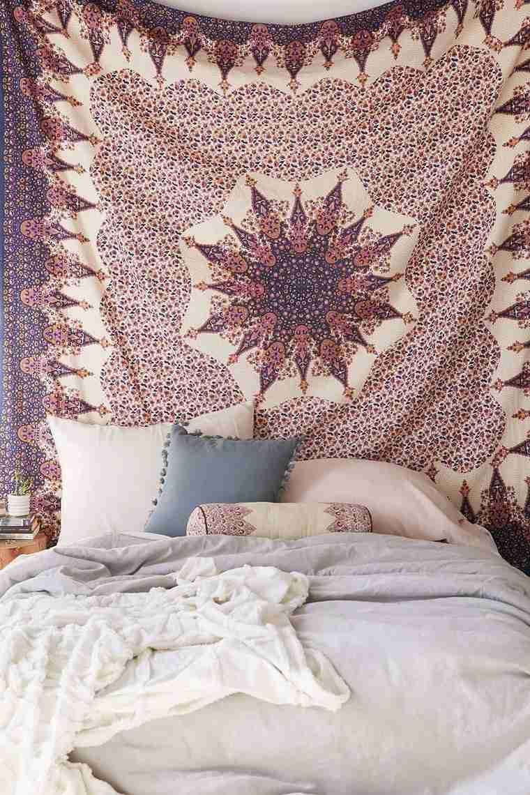 Boho chic  lesprit bohme sinvite dans la chambre  coucher moderne