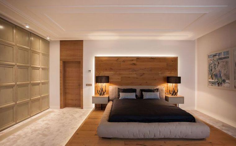 Quelle dco en bois pour la chambre  coucher adulte moderne et naturelle