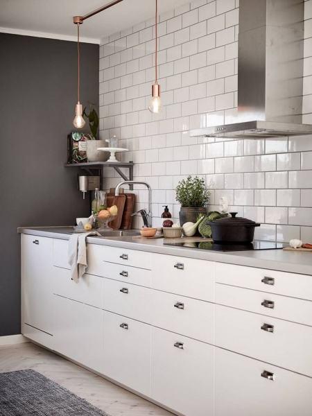 scandinavian kitchen tile designs Cuisine ouverte moderne : quelques modèles de cuisine de design intemporel