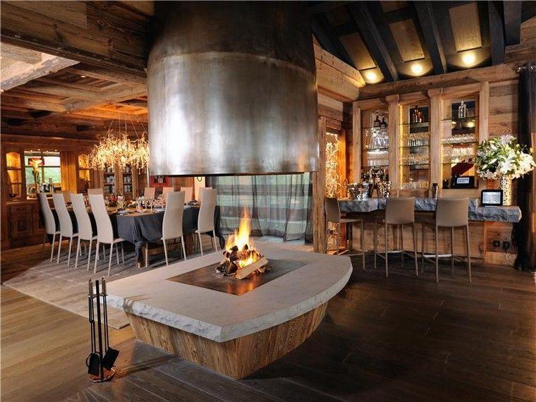 Chalet confortable et moderne avec chemine  slection