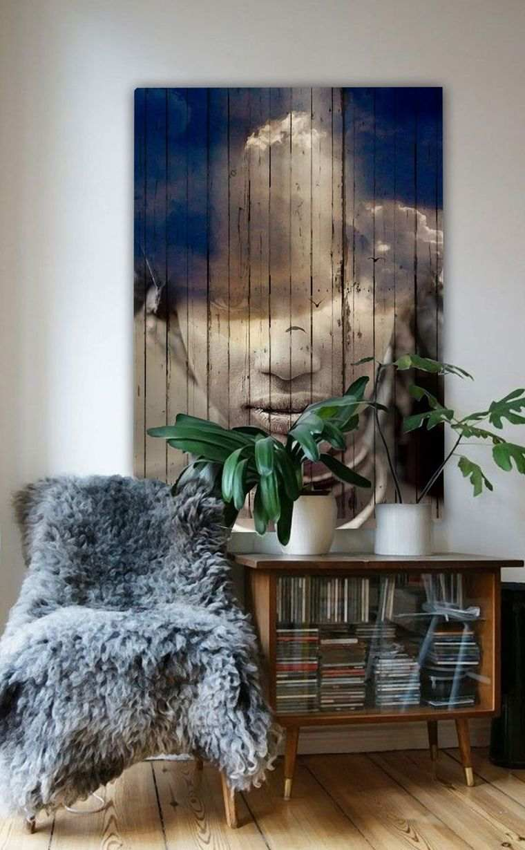 Le mur bois en dco de salon  6 faons dadopter le matriau organique