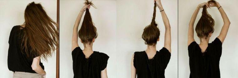 tuto coiffure cheveux mi long et long