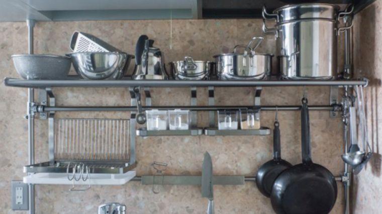 etagere de cuisine a poser sur plan de travail