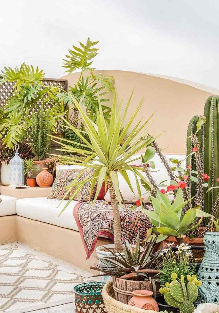Amnager son jardin style bohme chic pour clbrer la nature et les couleurs