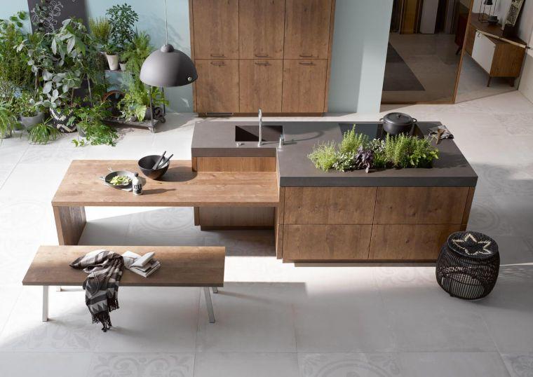 comment creer une cuisine bois moderne