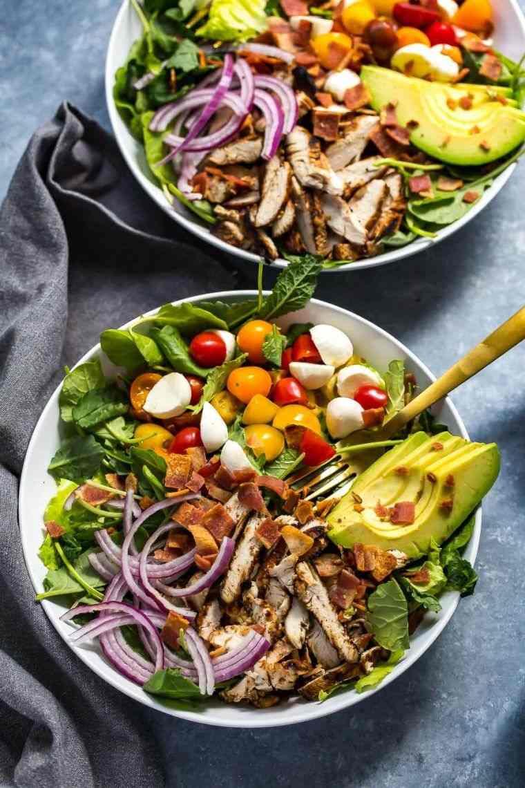 Recette Salade De Poulet Avocat Et Pesto Pour Un Repas