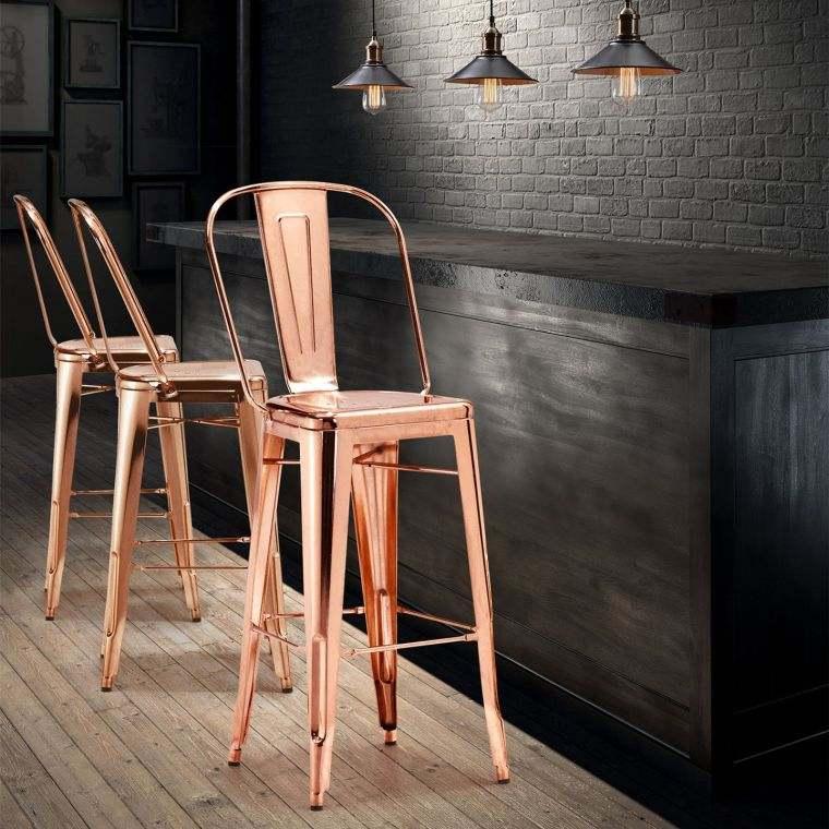 Chaise de bar design tabouret et fauteuil haut pour