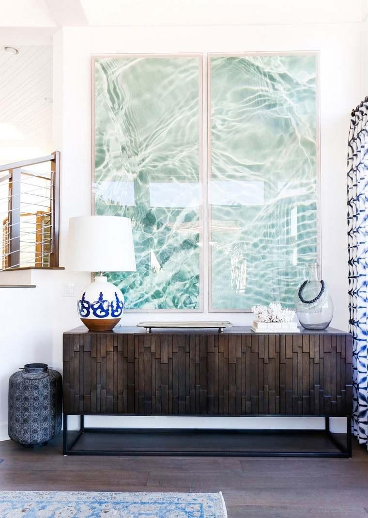 Ambiance Bord De Mer Chic maison table de sejour design décoration de maison