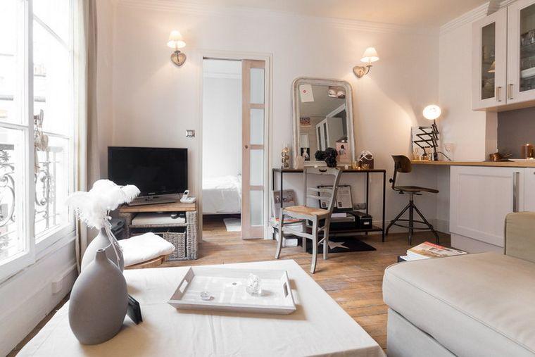 Images appartement moderne  Paris  un petit espace qui
