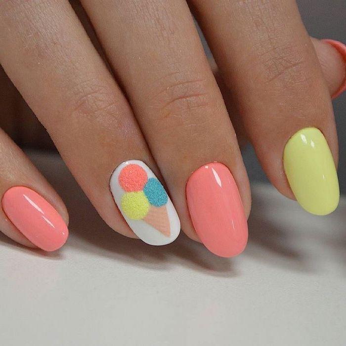nail art pour les vacances