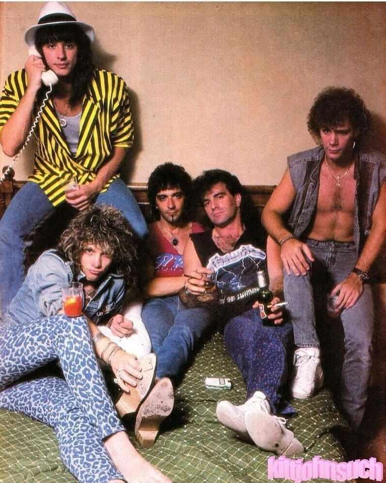 Groupe Hard Rock Année 80 : groupe, année, Chevelure, Stars, Groupes, Années