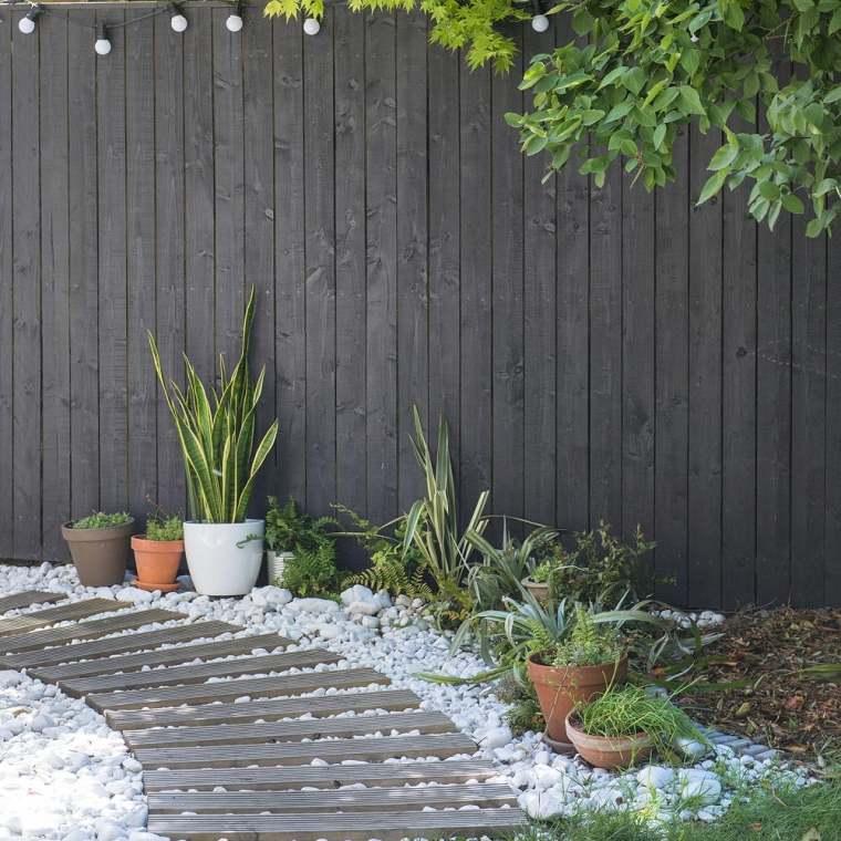 bordure de jardin en pierre et d autres