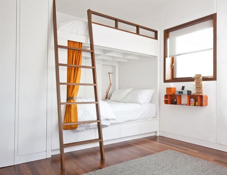 lit superpose en bois design pour une