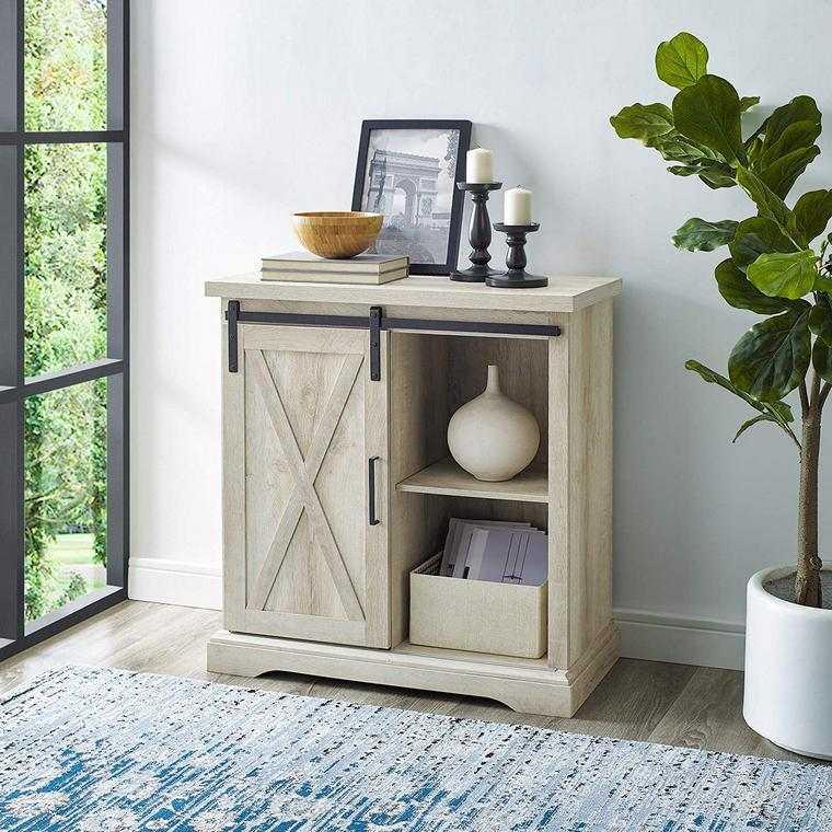 meuble rangement salon simple dans un