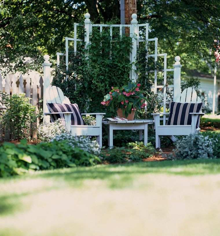 petit jardin romantique comment l