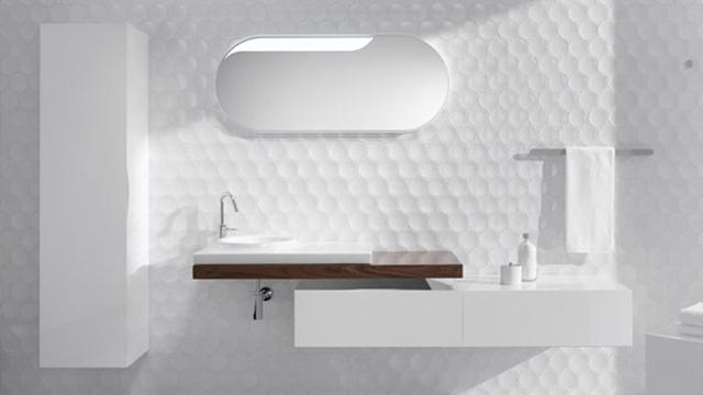 Quel revtement mural choisir pour la salle de bain