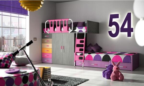 40 ides pour une chambre denfant peinte en couleurs vives
