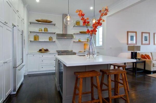 Design intrieur maison  30 photos de variations en orange