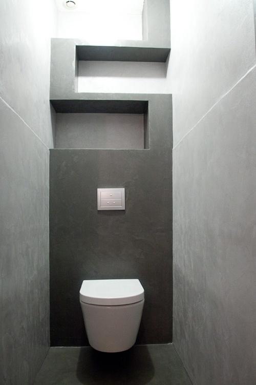 Accordez un soin particulier  la dco design de vos toilettes