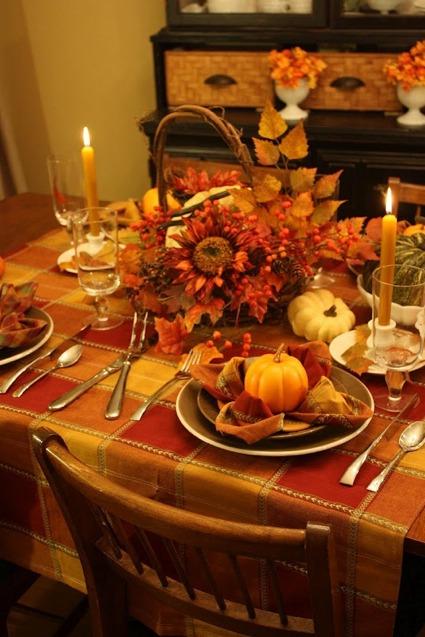 75 ides pour la dcoration de table dautomne pour un