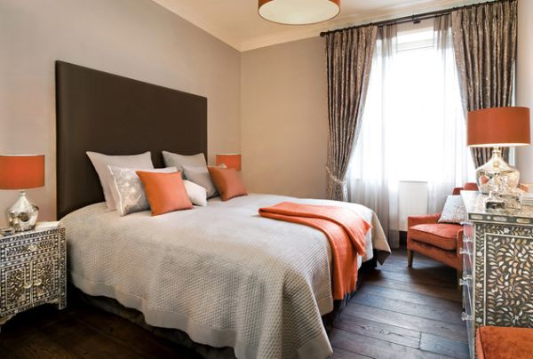 silver grey living room carpet wine bar design intérieur maison : 30 photos de variations en orange