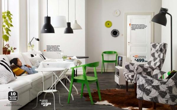 Le catalogue IKEA 2014 pour apprendre  partager lespace intrieur