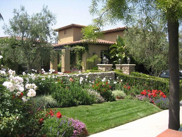 Des ides pour un joli jardin fleuri  un oasis dt