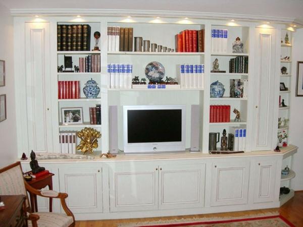 Tagres De Rangement Pour Livres Dans Le Salon Design