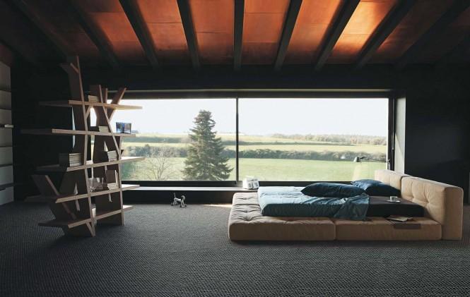 La chambre  coucher Roche Bobois  inspirzvous du hautdegamme