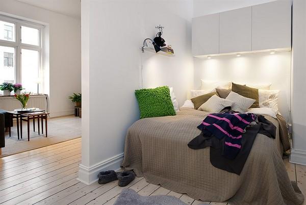 Ide dameublement de studio convivial et cozy