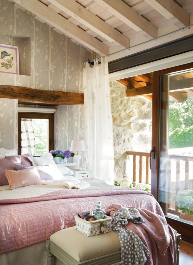 Dcoration de la chambre romantique 55 ides Shabby Chic