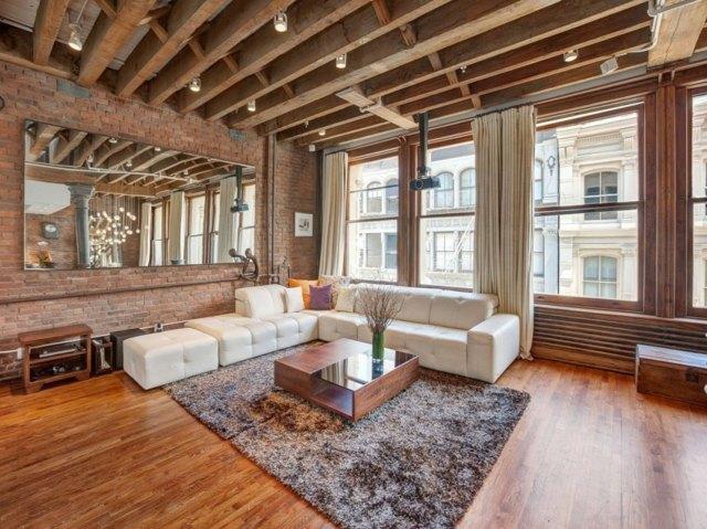 Appartement de luxe  New York entre rtro et moderne