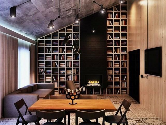 Bel appartement de dco industrielle par Edo Design