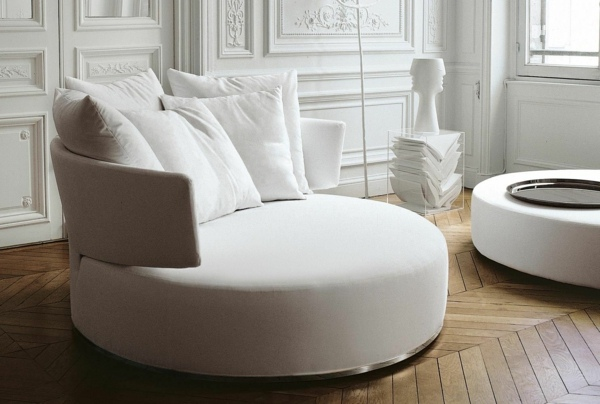 Canape Design Arrondi