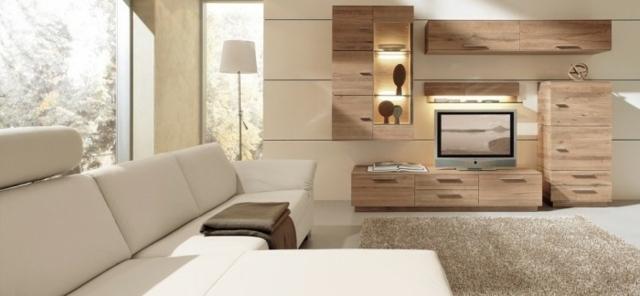 Salon moderne par Musterring en 25 ides damnagement