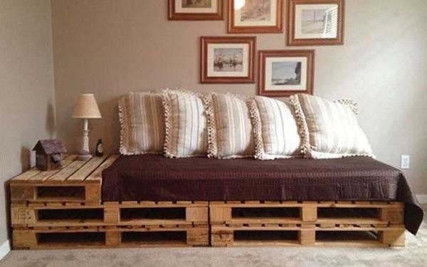 Palettes en bois  ides de bricolage de meubles