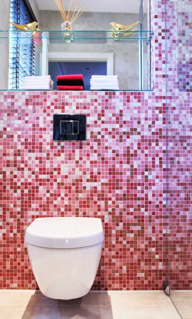Carrelage salle de bains  34 ides avec la belle mosaque