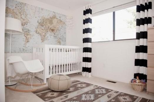 30 ides pour votre chambre enfant en blanc