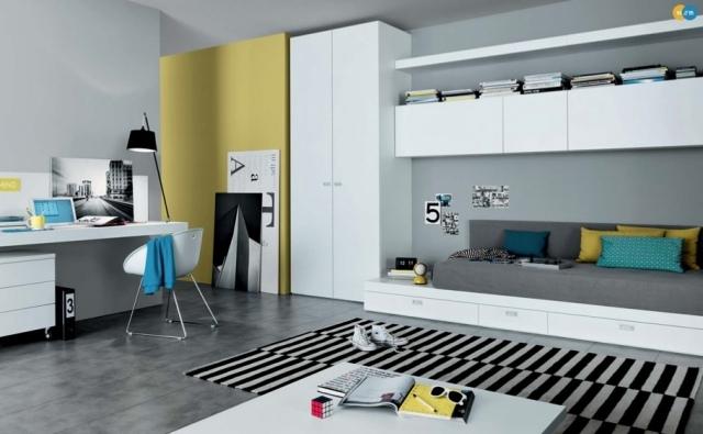 Chambre De Fille Ado De Design Contemporain 25 Ides Cool