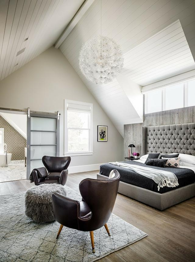 Chambre  coucher  110 photos pour lamnager