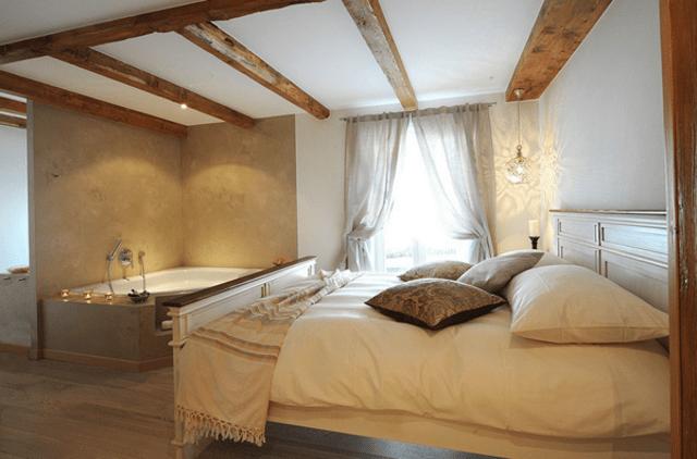 baignoire dans la chambre alliez tendance et romantisme 8 10
