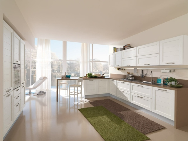 la cuisine retro moderne 94 idees