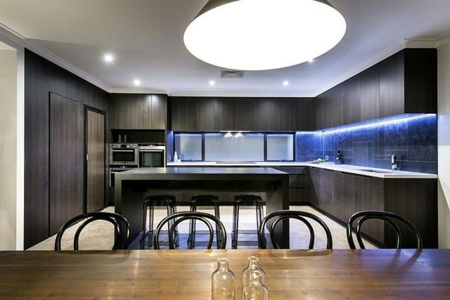 cuisine moderne ilot central