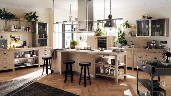 Ides de cuisines design pour petits et grands espaces