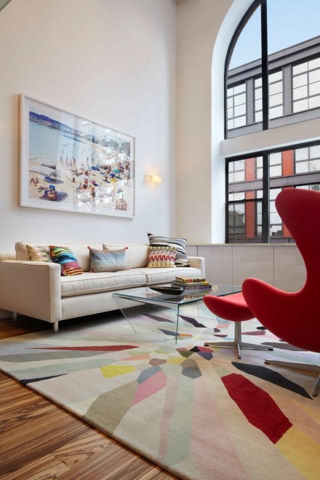 Dco salon en couleur rouge  quelques ides magnifiques et tendance