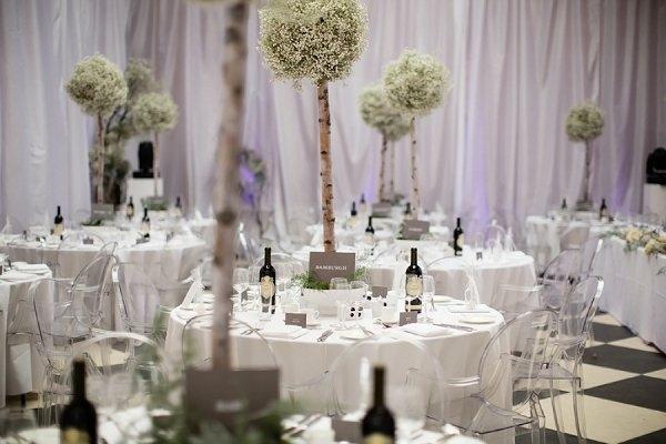 21 ides pour une belle dcoration mariage dhiver